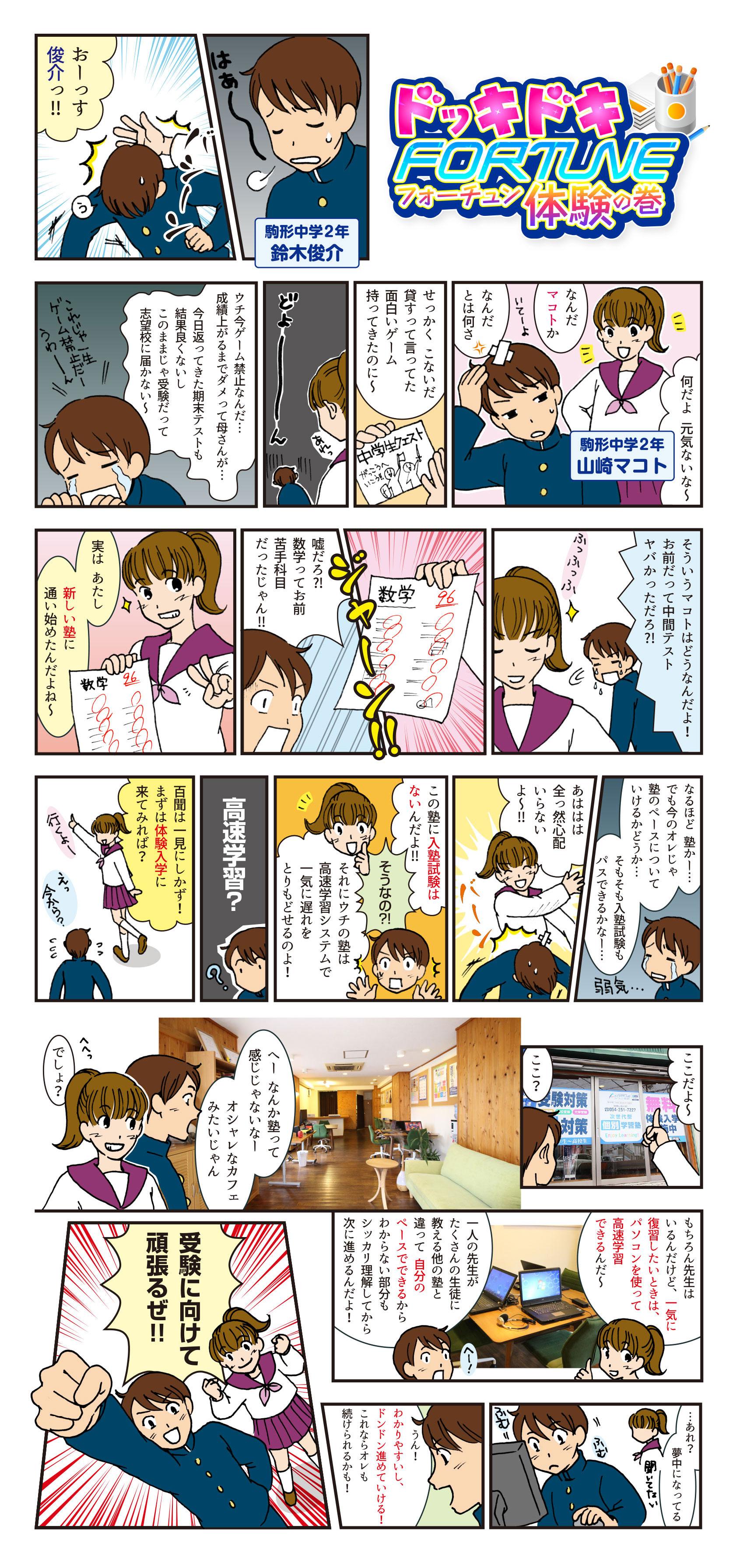 漫画ドッキドキFOTUNE体験
